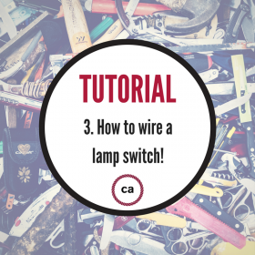 Tutorial #3 - How to wire a lamp switch!