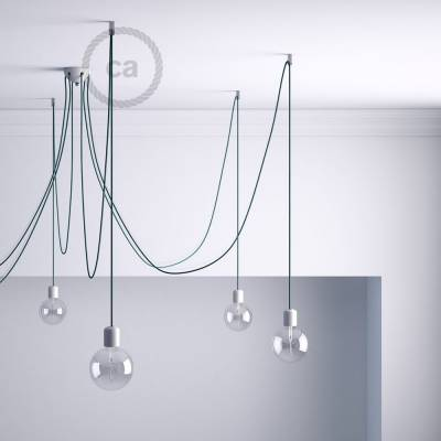Swag Hook, Transparent ceiling hook and stop for fabric cable