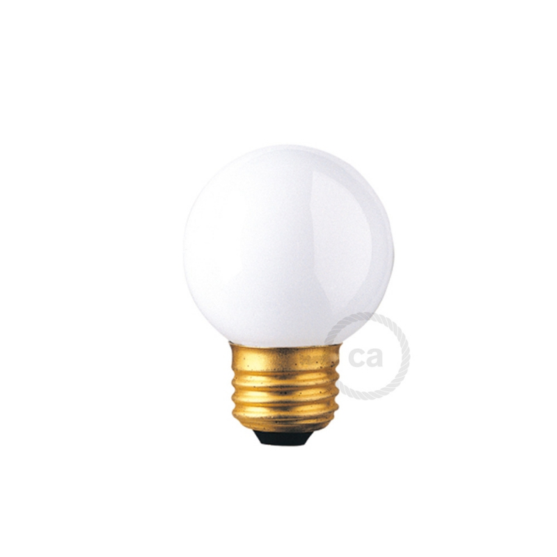 G16 - Incandescent Frosted Globe Light Bulb