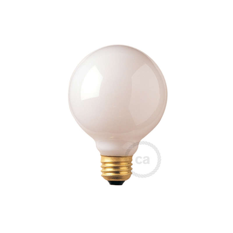 G25 Incandescent Frosted Globe Light Bulb