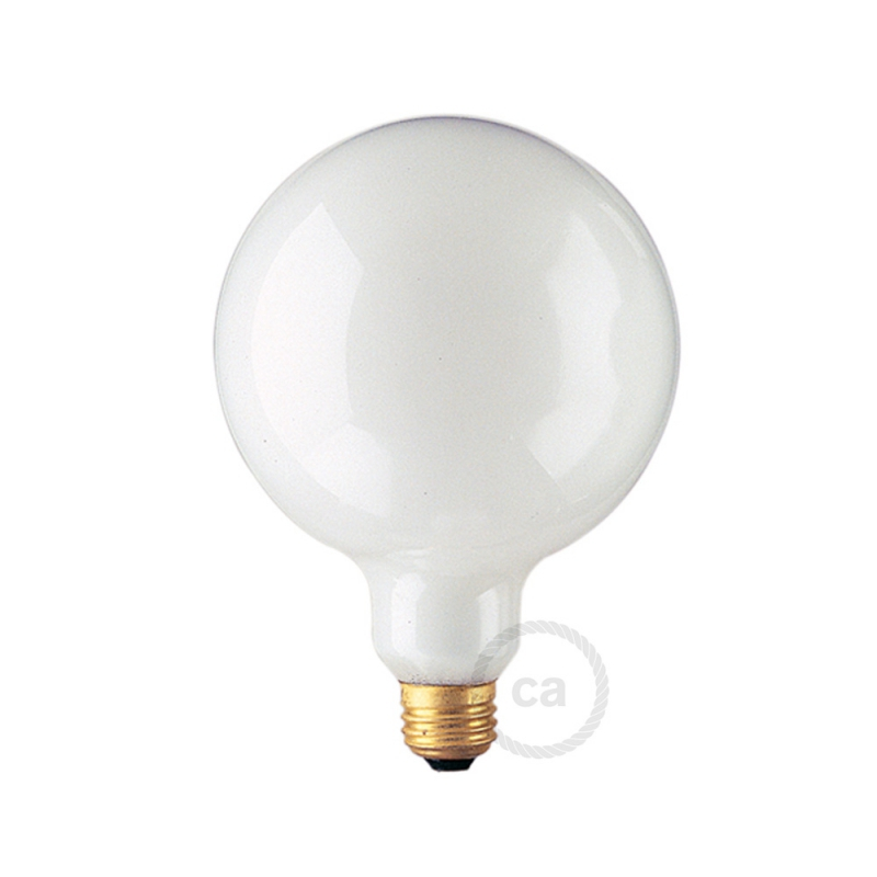 G40 Incandescent Frosted Globe Light Bulb