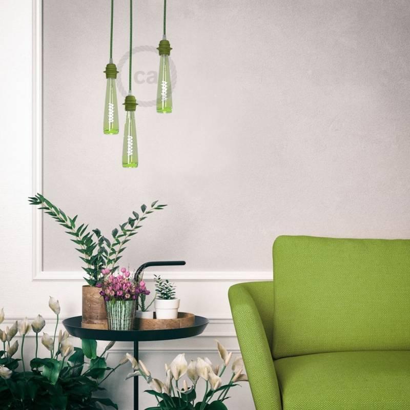 Flower Vase | Green Light Bulb