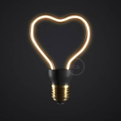 The Heart   LED Art Bulb