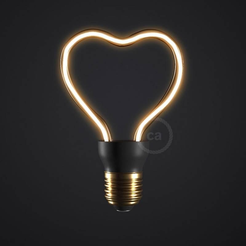 The Heart Bulb Led Art Light
