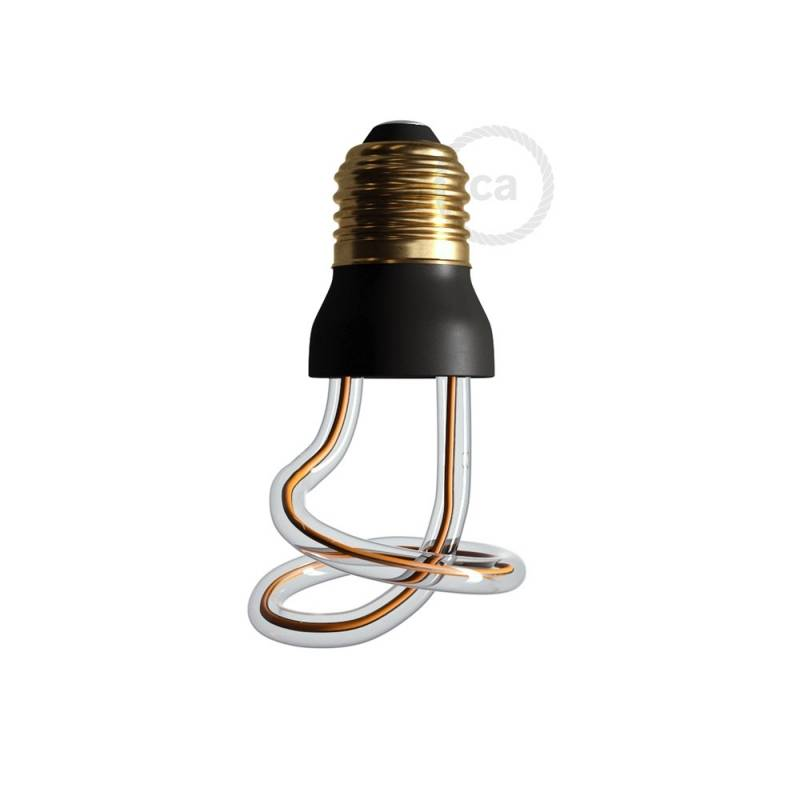 The Curled Bulb - LED Art Curled Light Bulb