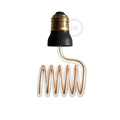 The Curling Iron | LED Art Bulb