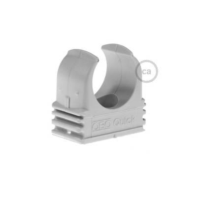 Plastic Cable Clip for Creative-Tube, 16 mm diameter