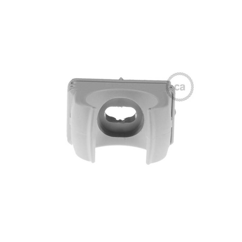 Plastic Cable Clip for Creative-Tube, 16 mm diameter