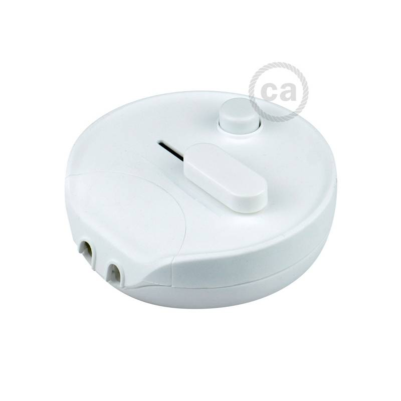 White foot dimmer switch