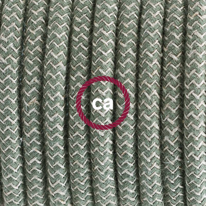 Create your RD72 Natural & Thyme Green Linen Chevron Snake and bring the light wherever you want