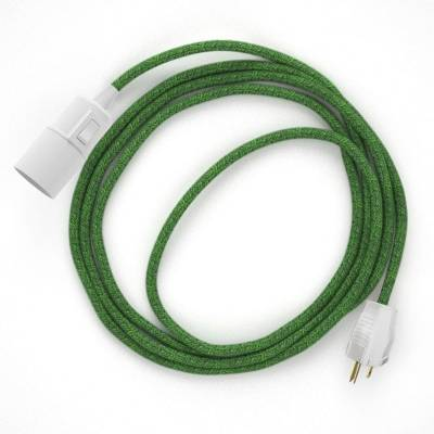 Create your RX08 Green Cotton Tweed Snake and bring the light wherever you want