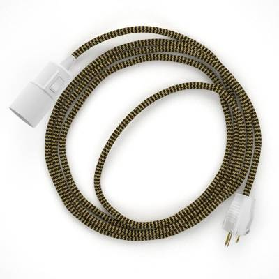 Create your RZ24 Gold & Black Rayon Chevron Snake and bring the light wherever you want