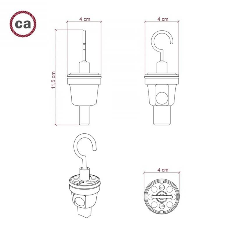 Metal Hook for Custom String Lights