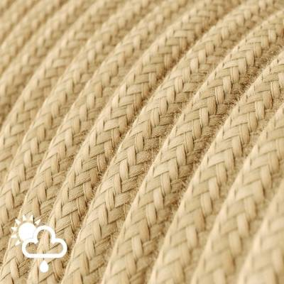 Outdoor round electric cable covered in Jute SN06