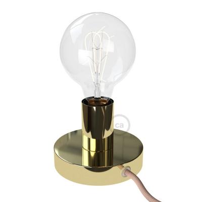 The Posaluce | Brass Metal Table Lamp