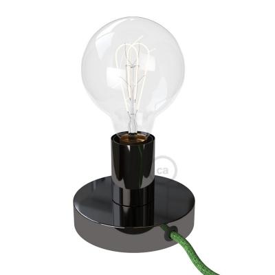 The Posaluce | Black Pearl Metal Table Lamp