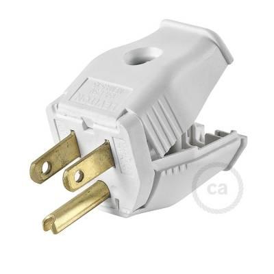 White 3-Prong Plug