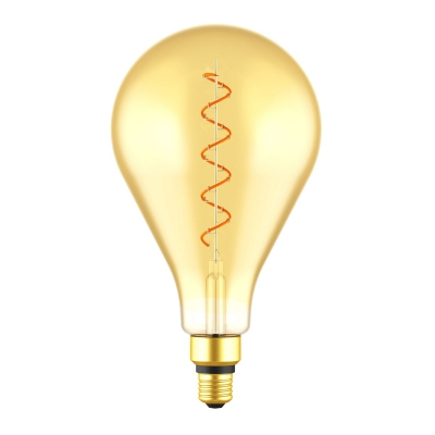 PS50 Teardrop | Giant Amber Light Bulb