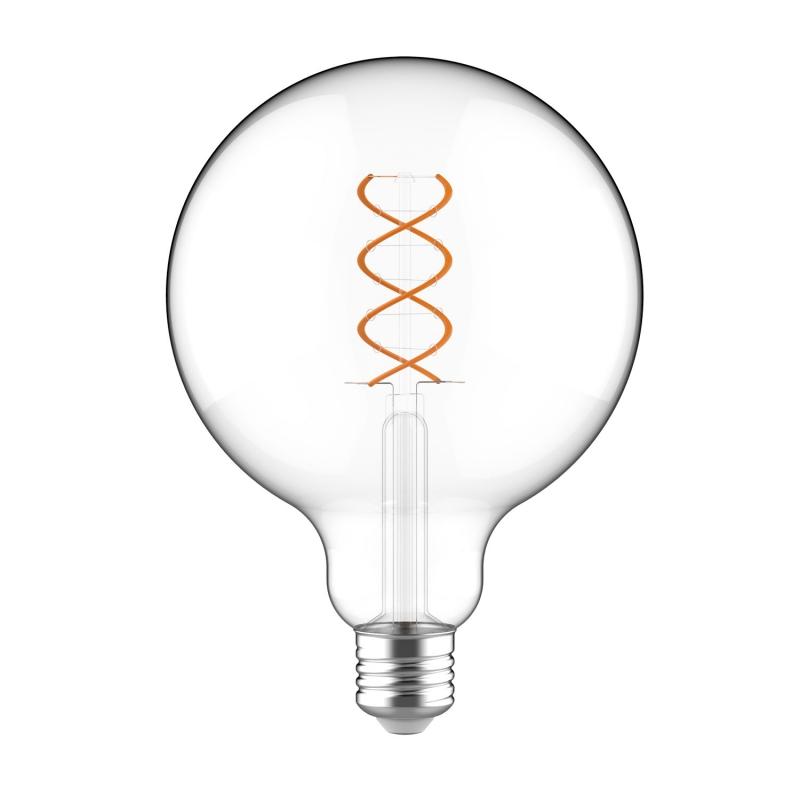 Large Light Bulbs - G40 Globe Shape - Clear Glass