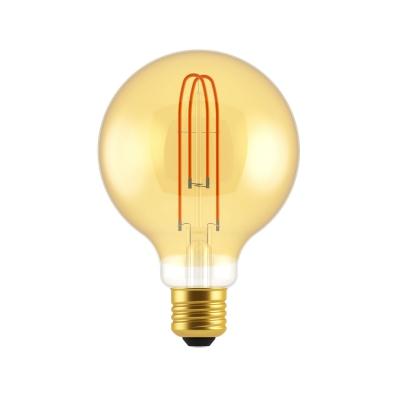 G30 Globe | Large Amber Light Bulb
