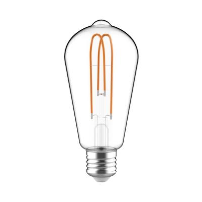 ST21 Looping Filament   Classic Clear Edison Bulb