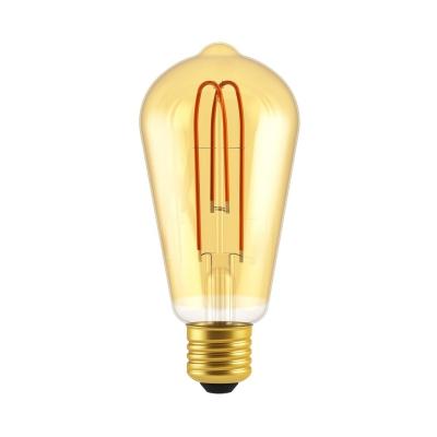 ST21 Looping Filament | Classic Amber Edison Bulb