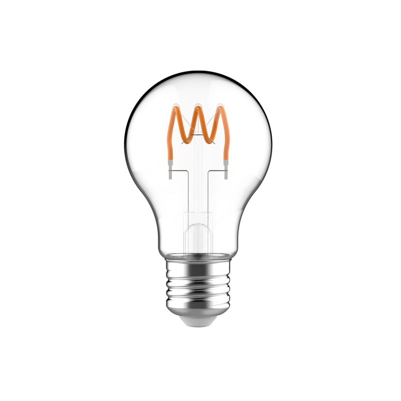 Classic Elegance Bulb - A60 Looping Filament - Clear Glass
