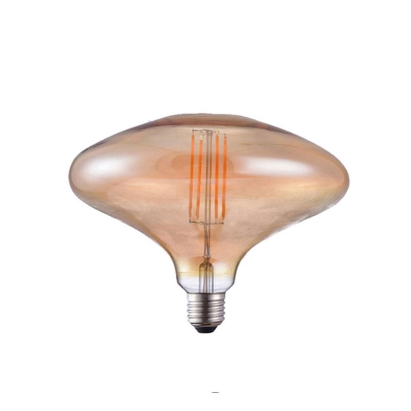 Giant Light Bulbs - Extra Mushroom MR180 - Amber Glass