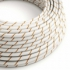 Round Electric Vertigo HD Cable covered by Beer Foam fabric ERM43