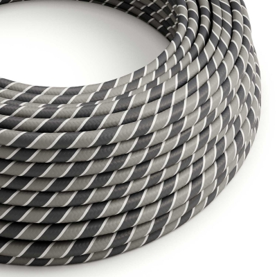 Round Electric Vertigo HD Cable covered by Ironman fabric ERM44