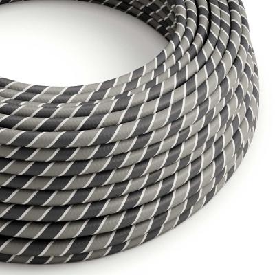 Round Electric Vertigo HD Cable covered by Ironman fabric ERM44