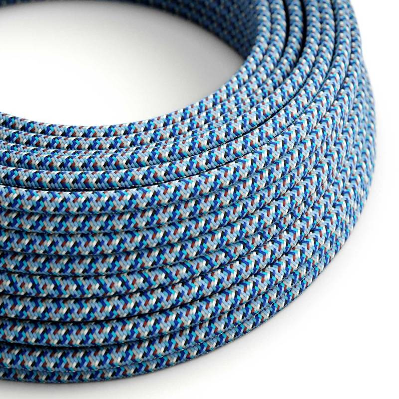 Pixel Blue covered Round electric cable 3x18 AWG - RX03
