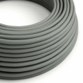 Gray Rayon covered Round electric cable - RM03
