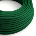 Emerald Rayon covered Round electric cable - RM21