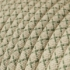Natural & Thyme Green Linen CrissCross covered Round electric cable - RD62
