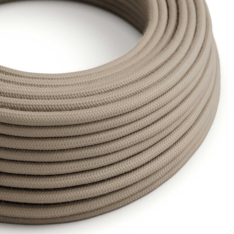 Dove Cotton covered Round electric cable - RC43