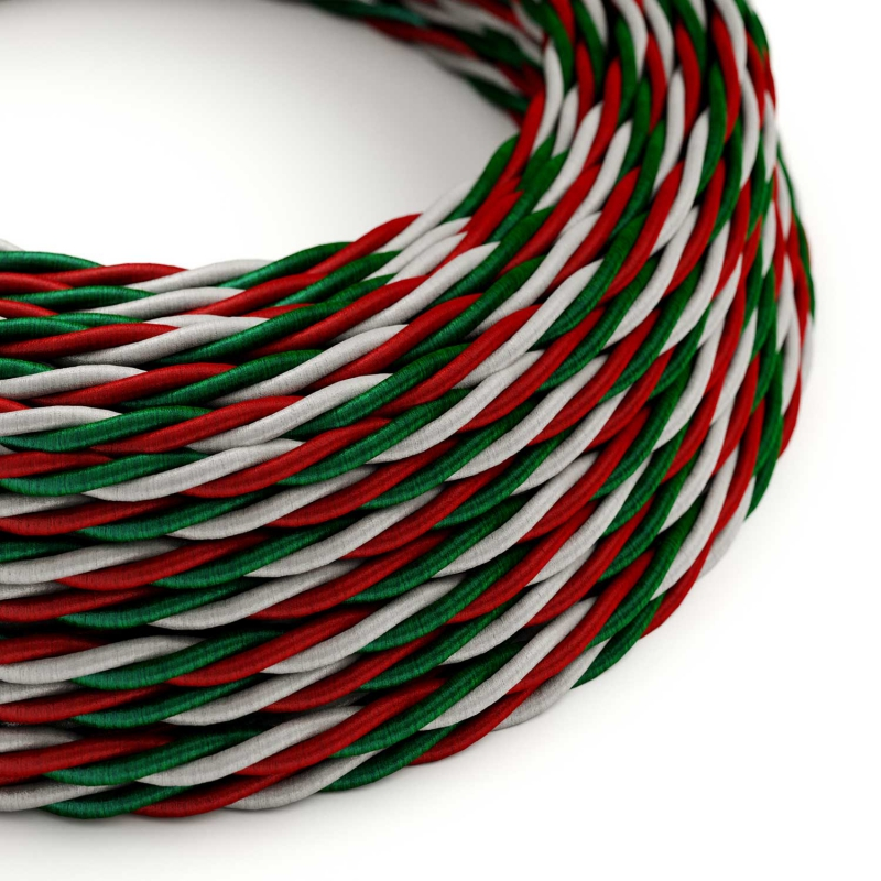 Italy Rayon covered Twisted electric cable - TZITA