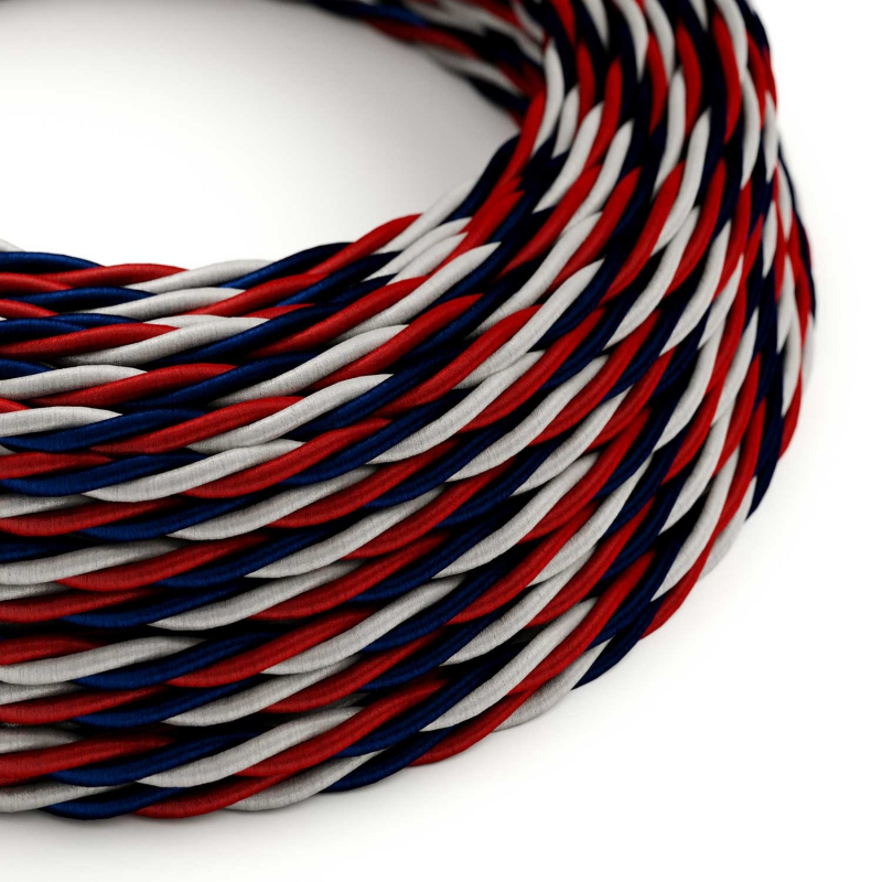 USA Rayon covered Twisted electric cable - TZUSA