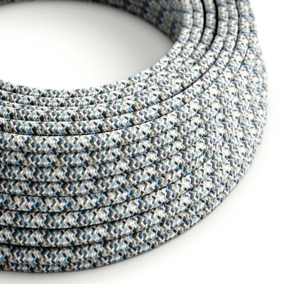 Pixel Ice covered Round electric cable 2x18 AWG - RX04