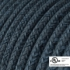 Blue Mirage Cotton covered Round electric cable - RX10