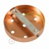 Classic 7-hole Round Metal Ceiling Canopy Kit