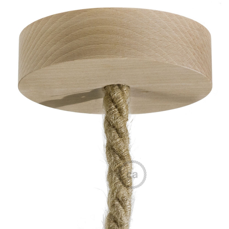 Wooden Ceiling Canopy Kit - For XL Rope
