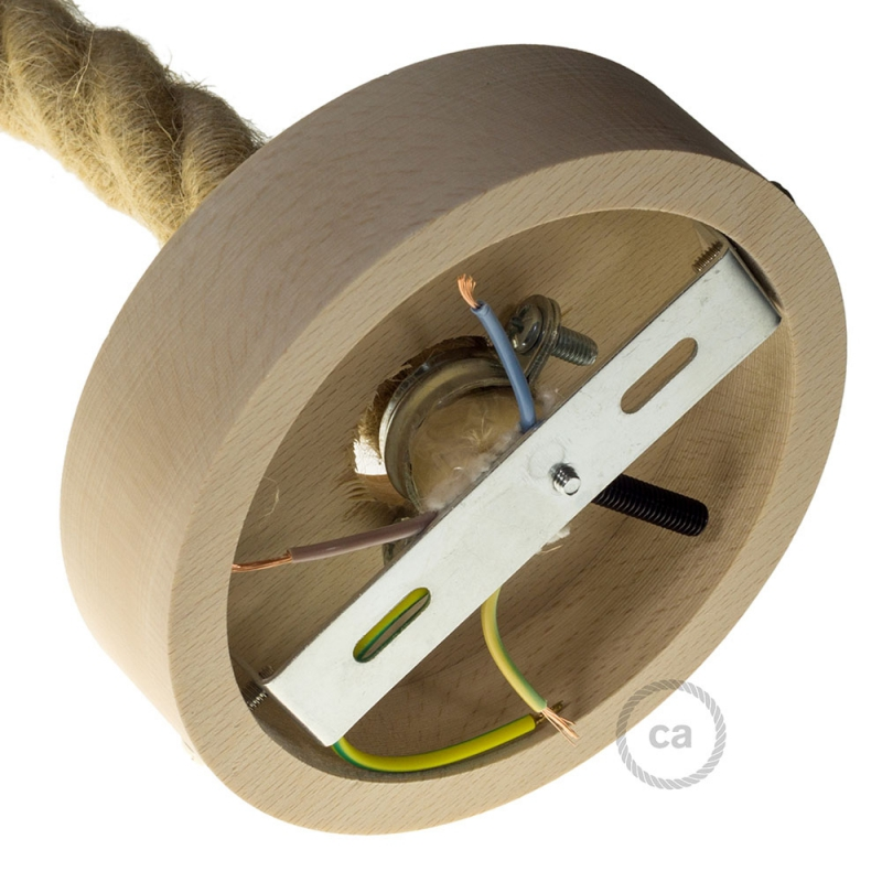 Wooden Ceiling Canopy Kit - For 3XL Rope