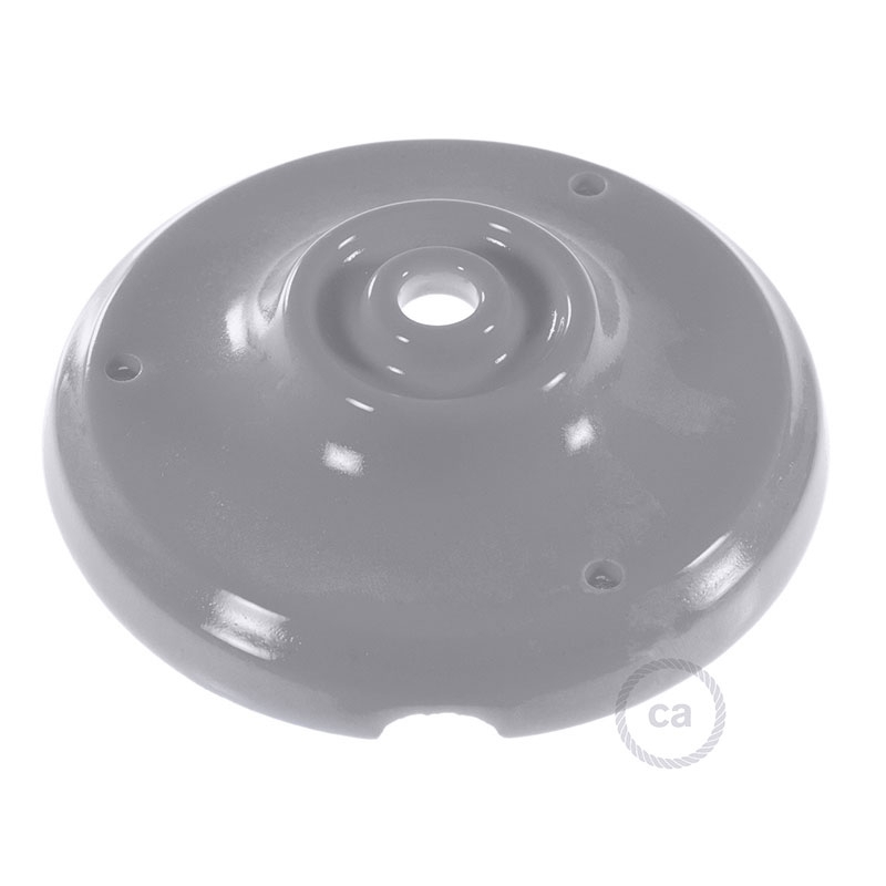 Porcelain ceiling canopy kit