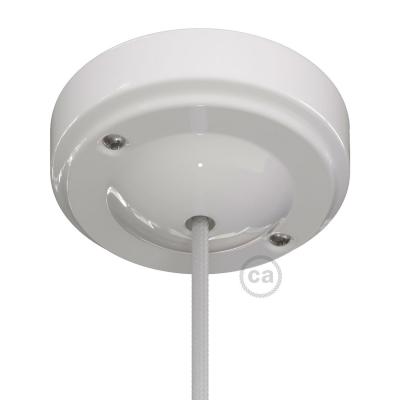 "Porcelain ""Minimal"" ceiling canopy kit"