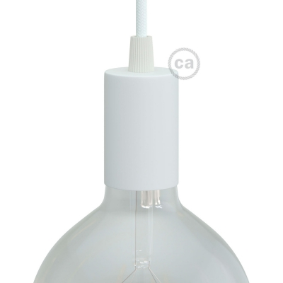 Cylindrical metal UL E26 socket kit
