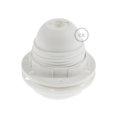 Double ferrule thermoplastic UL E26 socket kit for lampshade