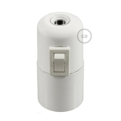 Phenolic bakelite UL E26 socket kit with switch