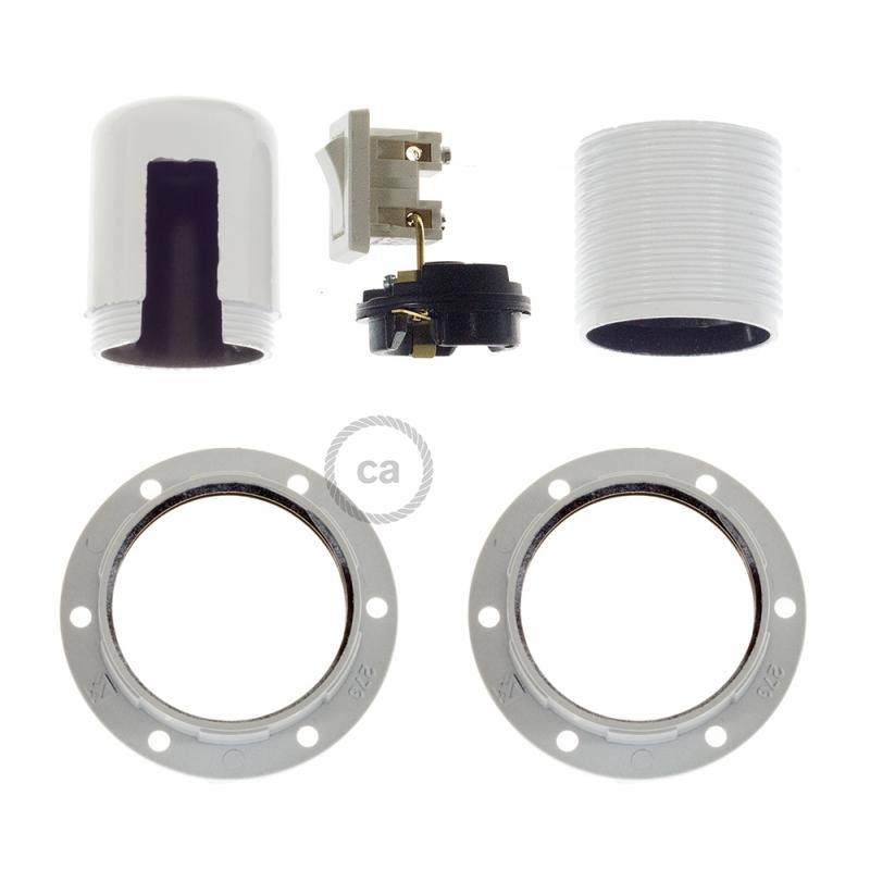 Double Ferrule Bakelite Phenolic socket - ON/OFF SWITCH - E26