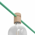 Wood String Light Bulb Socket Cover Kit